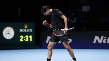 Thiem wziął rewanż na Djokoviciu. Austriak w finale turnieju w Londynie