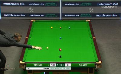 Setka Trumpa w półfinale Northern Ireland Open