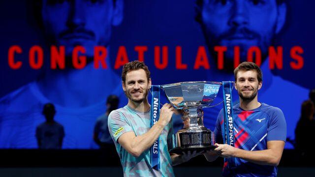 Przyszły deblowy partner Kubota zwycięzcą turnieju ATP Finals