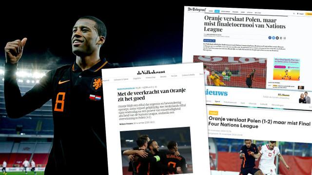 Liga Narodów UEFA: Polska - Holandia - media po meczu - piłka nożna   Eurosport w TVN24    - Piłka nożna - TVN24