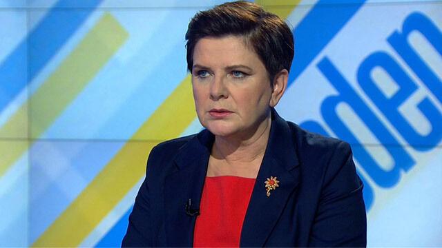 """Premier Beata Szydło w """"Jeden na jeden"""""""