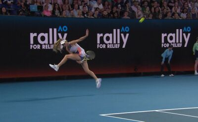Tweener Wozniackiej w Rally for Relief