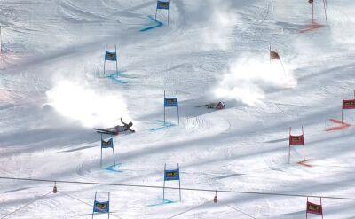 Jeden wyścig, dwa upadki. Niespodziewana sytuacja w slalomie równoległym w Sestriere