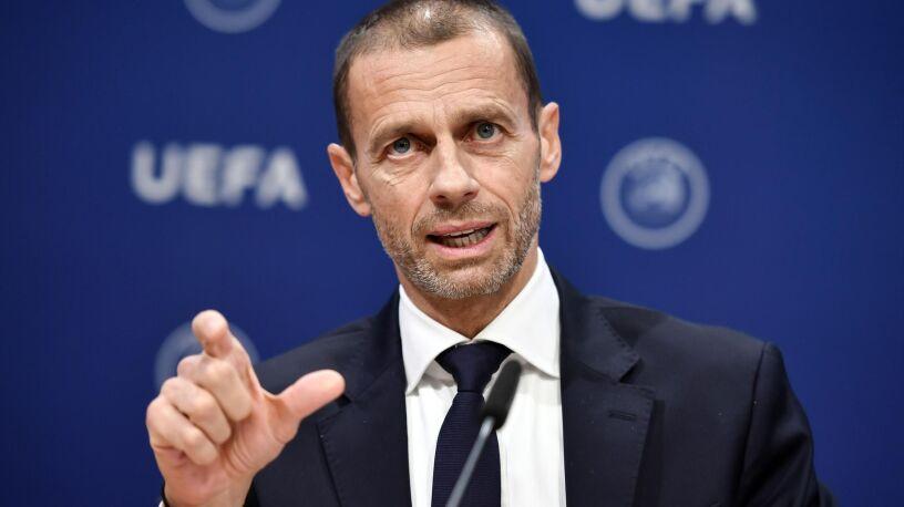 """Szef UEFA grozi tym, co chcą kończyć sezon. """"Ryzykują prawem gry w pucharach"""""""