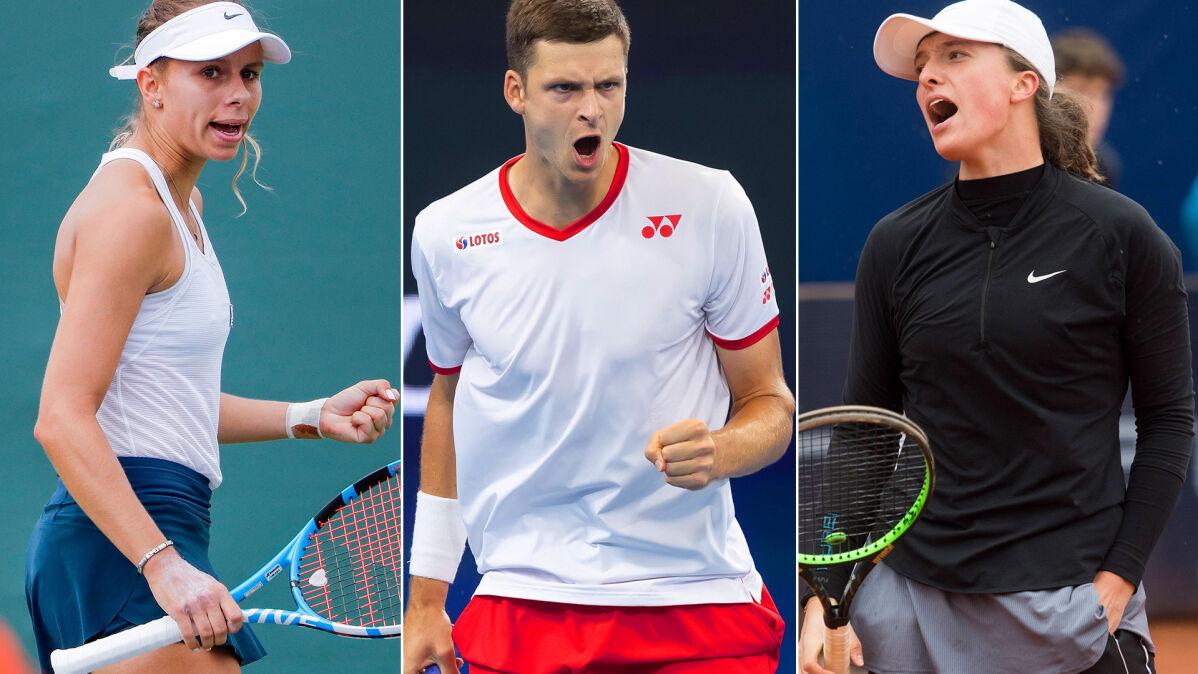 Polscy tenisiści w końcu wyjdą na kort. Plan transmisji 2. dnia Australian Open