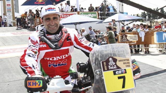Podano przyczynę śmierci portugalskiego motocyklisty. Jego zespół wycofał się z Dakaru