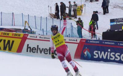 Mayer liderem po zjeździe do kombinacji w Wengen