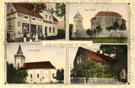 Jędrzychów na przedwojennych widokówkach - 1914