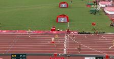 Tokio. Dziesięciobój mężczyzn. Wiesiołek 6. w swoim biegu na 400 m