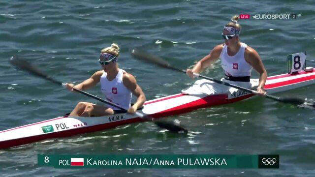 Tokio. Karolina Naja i Anna Puławska ze srebrnym medalem w kajakarstwie