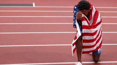 Płacz i wyznanie medalisty igrzysk.