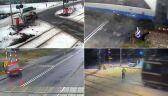 Bieg tuż przed pociągiem, przejazd pod szlabanem, rowerem w Pendolino. PKP ostrzega filmem