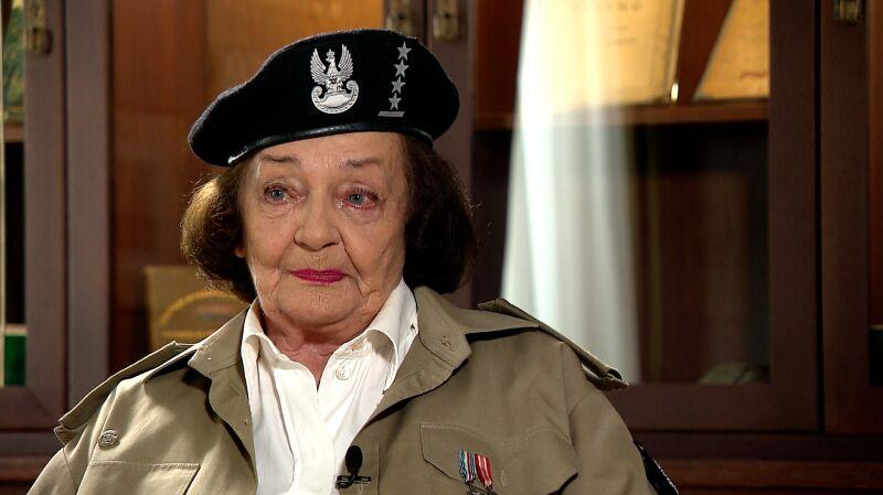 Eleonora Galica-Zaremba o swoich początkach w konspiracji
