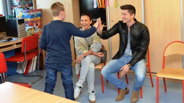 Lewandowscy przekazali 500 tys. zł  na remont Centrum Zdrowia Dziecka