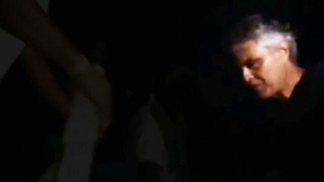 Spontaniczny występ w jaskini. Andrea Bocelli zaśpiewał dla turystów