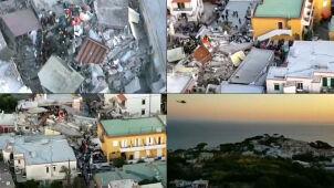 Nagranie ze śmigłowca pokazuje ogrom zniszczeń
