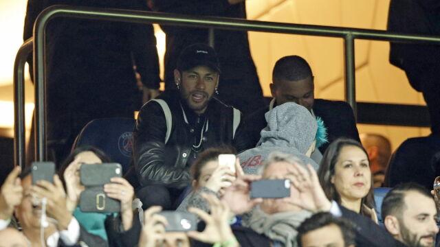 Neymar znowu w tarapatach. Może zostać zawieszony w Lidze Mistrzów