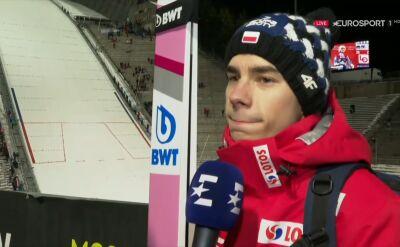 Jakub Wolny po kwalifikacjach w Oslo