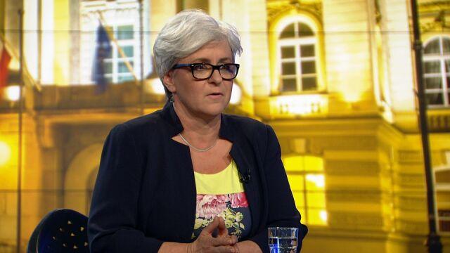 """Joanna Kluzik-Rostkowska w """"Faktach po Faktach"""""""