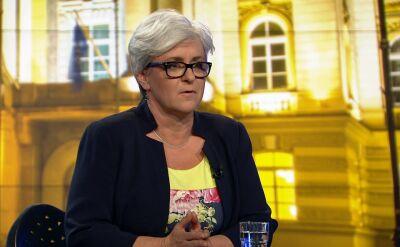 """Joanna Kluzik-Rostkowska w """"Faktach po Faktach"""". Cała rozmowa"""