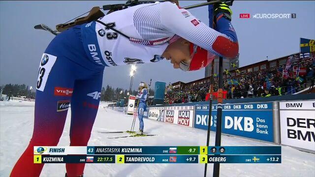 Kuzmina wygrała sprint w mistrzostwach świata