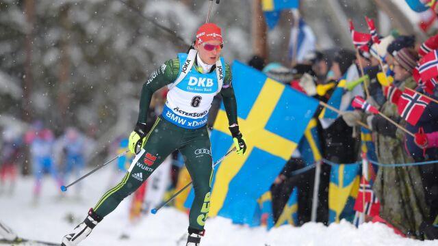 Herrmann ze złotem w biegu pościgowym, Hojnisz nie wystartowała