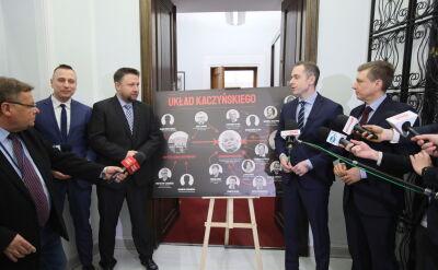 Mariusz Witczak: nie obawiamy się próby zagłuszenia prawdy o układzie