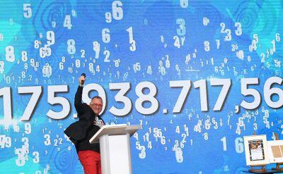Owsiak ogłosił wynik zbiórki w ramach 27. Finału WOŚP