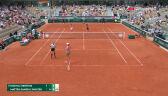Świątek i Mattek-Sands awansowały do ćwierćfinału gry podwójnej French Open