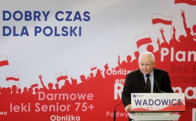 Kaczyński w Wadowicach: rodzina nie może się składać z dwóch tatusiów