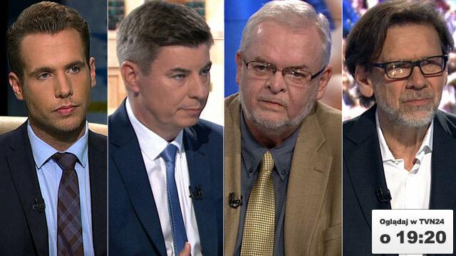 """Goście """"Faktów po Faktach"""" porozmawiają m.in. o materiale """"Superwizjera"""" TVN"""