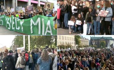 Manifestacje w obronie klimatu w całej Polsce