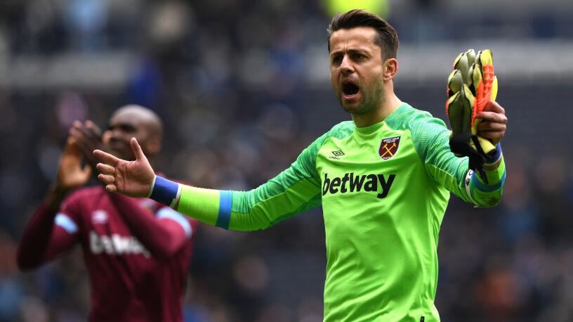 Fabiański znów niepokonany. West Ham zaskoczył Czerwone Diabły