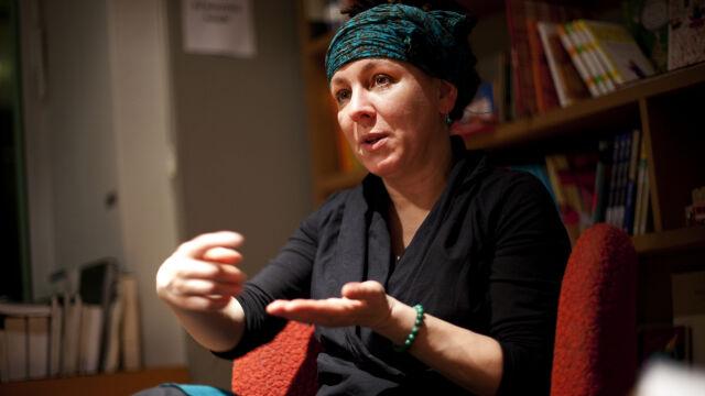 Olga Tokarczuk z literackim Noblem