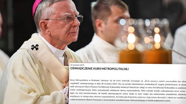Arcybiskup Jędraszewski rozwiązał biuro prasowe archidiecezji.