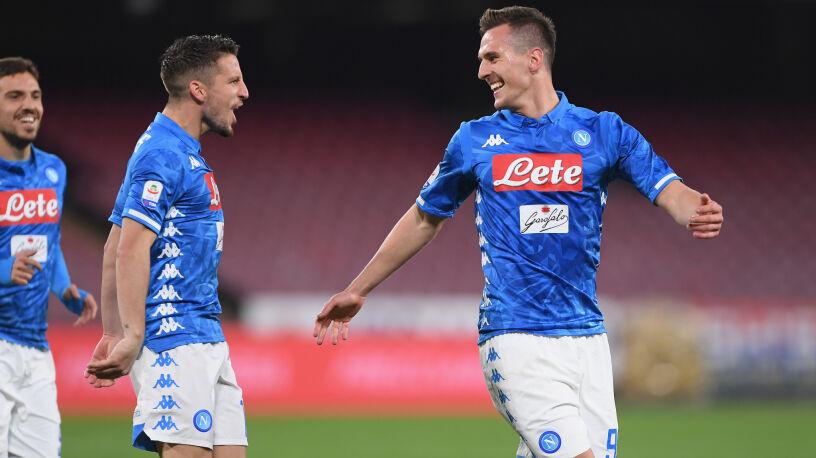 """Milik negocjuje nowy kontrakt. """"Jestem bardzo szczęśliwy w Neapolu"""""""