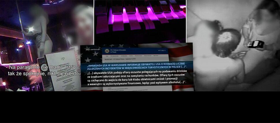 """""""Kluczowy jest urok półnagiej dziewczyny"""". Przed polskimi klubami ostrzega nawet ambasada USA"""