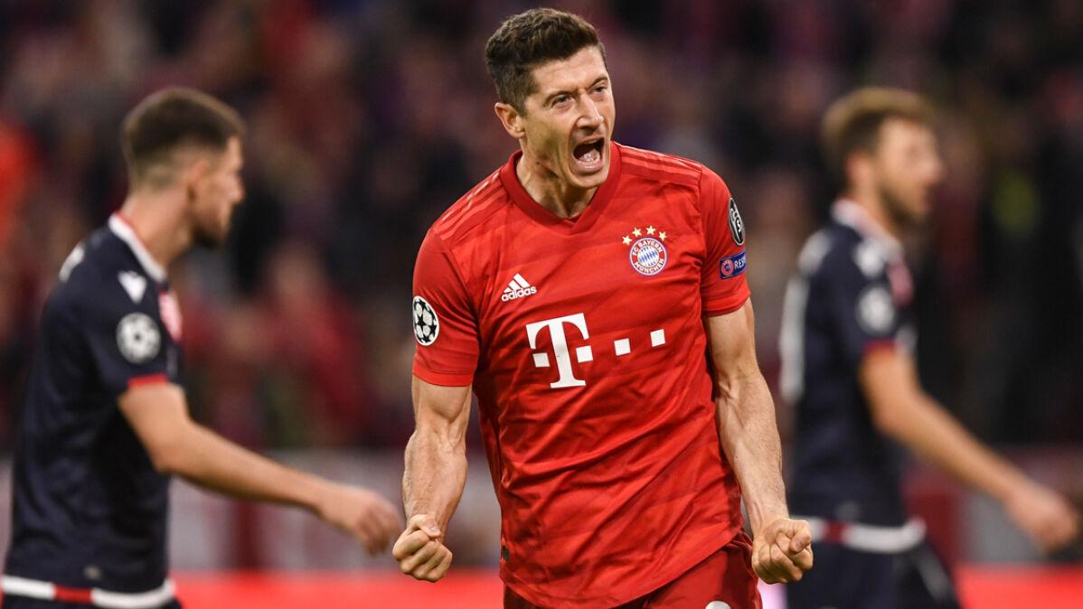 Mocny start Bayernu w Lidze Mistrzów. Lewandowski z 54. golem w rozgrywkach