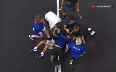 Zverev pokonał Raonicia, Europa wygrała Puchar Lavera