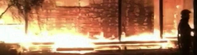 Spłonął dom byłej szefowej banku centralnego.