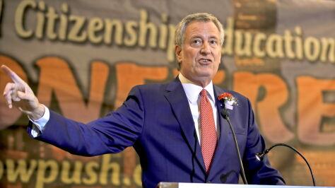 Burmistrz Nowego Jorku już nie chce walczyć  o prezydenturę