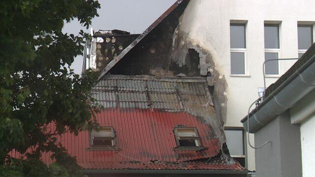 Pożar w szkole podstawowej. Lekcje odwołane do końca tygodnia