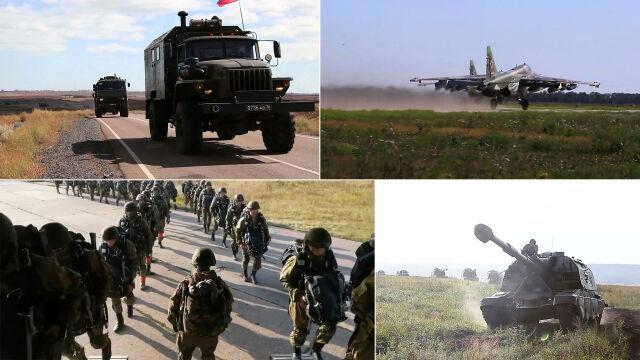 Sprawdzian gotowości bojowej na Krymie