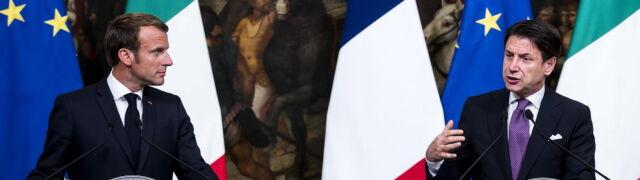 Macron chce