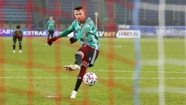 Grał z kontuzją, strzelił dwa gole. Pekhart goni Nikolicia