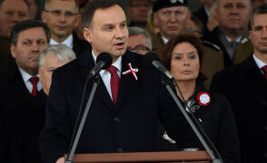 Prezydent Duda: są niedostatki obecnej wolnej Polski