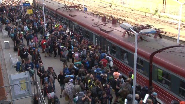 Z Pomorza pojadą specjalne pociągi na Pol'and'Rock Festival 2019