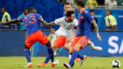Nieudany początek Argentyny w Copa America