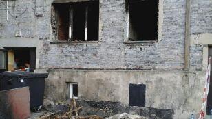 Jedna osoba zginęła  w pożarze kamienicy