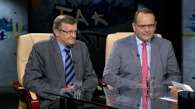 Tadeusz Cymański i Eugeniusz Kłopotek w Tak Jest